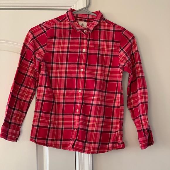 lands end kids Other - Lands End Girls Flannel Size 10
